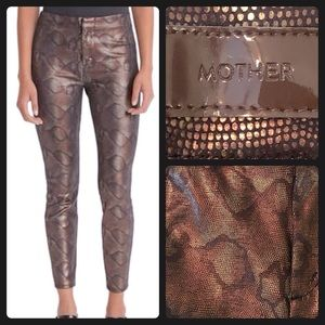 MOTHER The Looker High Waist Skinny Pants Sz23 NWT